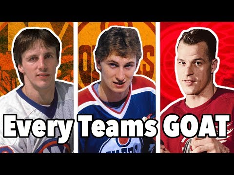 THE GREATEST PLAYER OF ALL TIME FROM ALL 31 NHL TEAMS