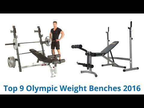 9 Best Olympic Weight Benches 2016