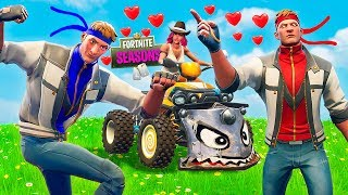 Dire & his brother FIGHT for Calamity's LOVE!! !! Fortnite Season 6 Short Film