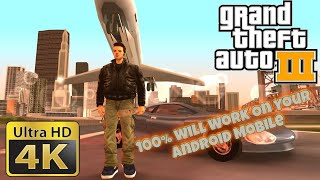 Grand Theft Auto 3 (GTA III) for Android | How to Play Grand Theft Auto 3 (GTA III) on Your Mobile
