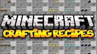 Minecraft: CRAFTING RECIPES! (CraftGuide) | Mod Showcase