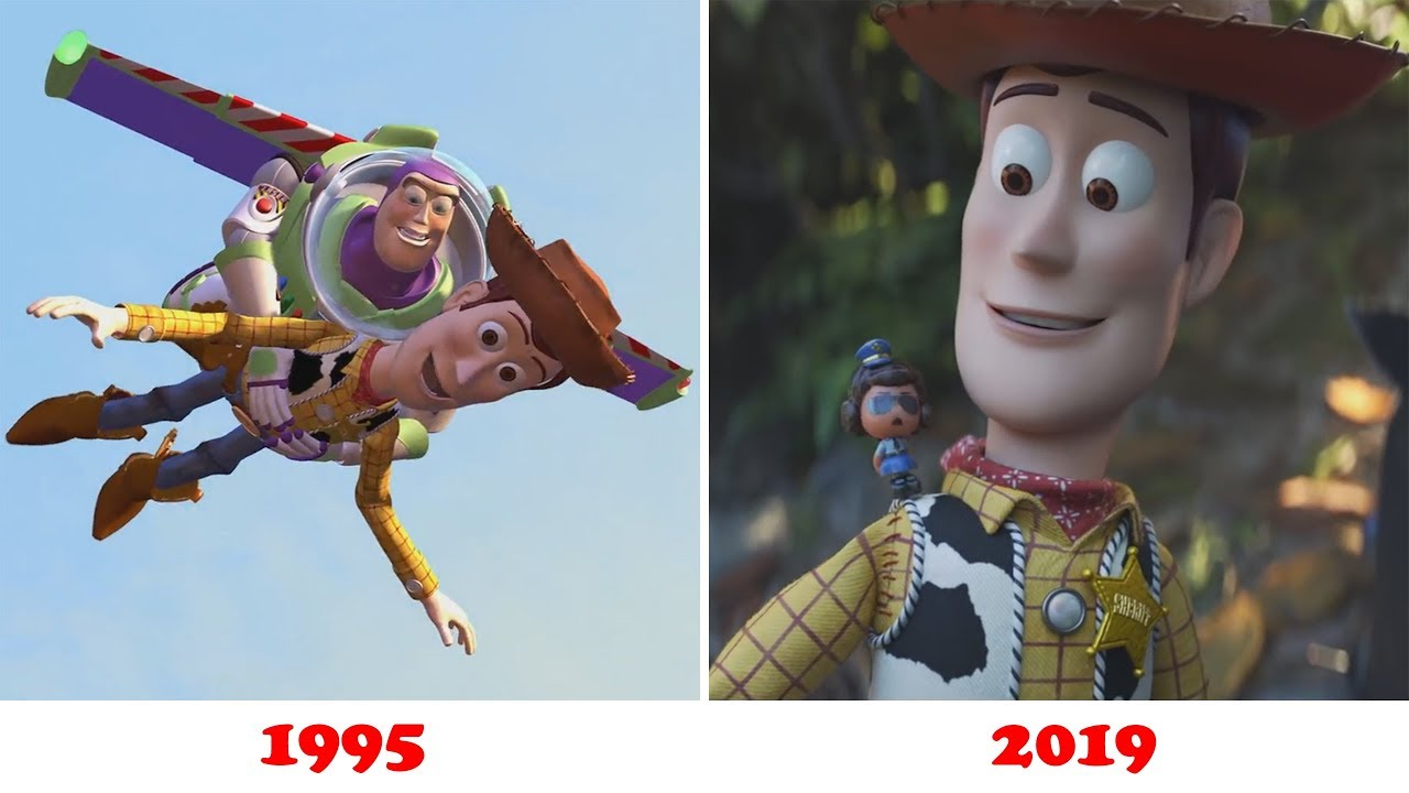 Evolution of Toy Story 1,2,3,4 (1995 - 2019) - YouTube