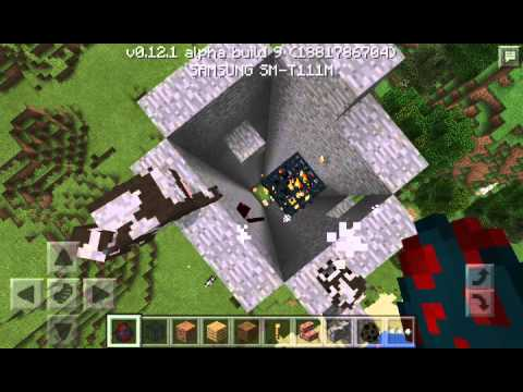 how to make a mob farm in minecraft pe