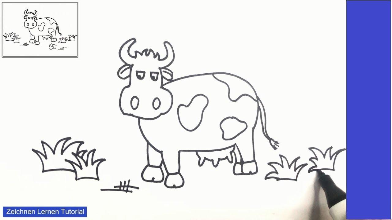37 kuh zeichnen einfach - besten bilder von ausmalbilder