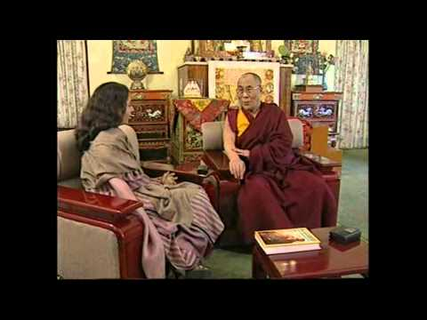 Dalai Lama interview by Tavleen Singh Part -1