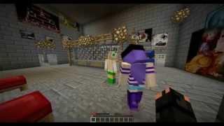 Minecraft Filmas - Kalejimo Begliai 4 - Lietuviskai !