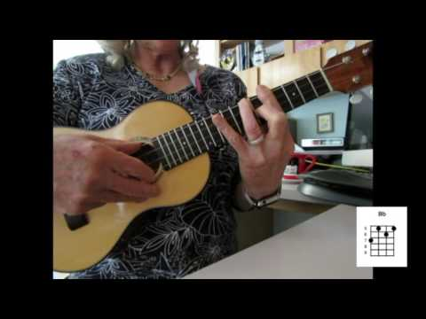 On The Sunny Side Of The Street Instruction For Ukulele With Bar