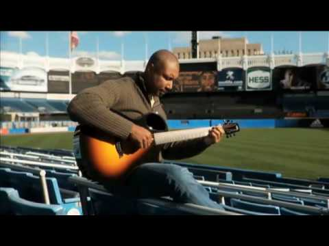 Bernie Williams - Take me Out to The Ball game - Offical Music Video at Yankee Stadium