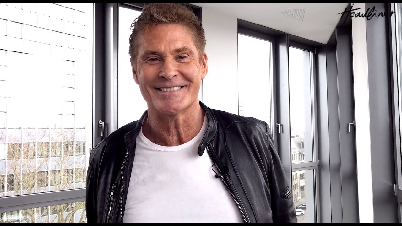 David Hasselhoff Interview Zur 30 Years Looking For Freedom Tour