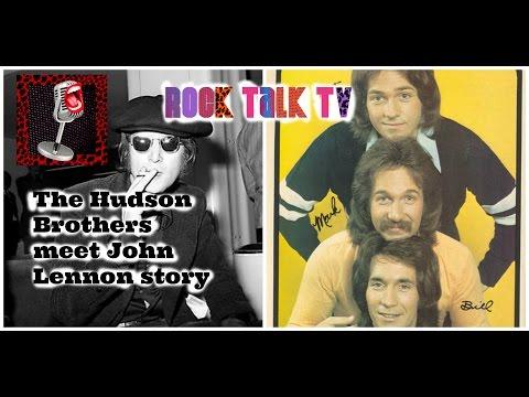 JOHN LENNON - HOW HE MET THE HUDSON BROTHERS