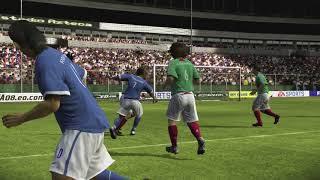 Simulación MEX-BRA en FIFA08