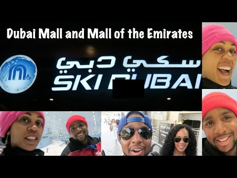 Dubai Vacation Vlog #6: Dubai Mall and Mall of Emirates
