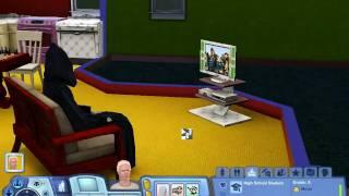 Grim  Reaper watching kiddie porn.  TS3