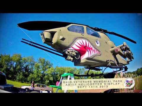 Time Laps AH-1F Helicopter Painting the Shark - YouTube