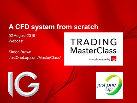 A complete CFD share trading system (live session)