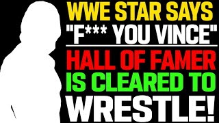 WWE News! WWE Mascot! Ex WWE Star Pulls Out Of Wrestling Show! WWE Star Cleared To Wrestle! AEW News