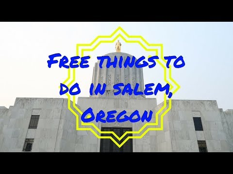 FREE THINGS TO DO IN SALEM, OREGON | USA TRAVEL VLOG