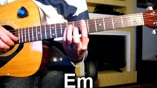 Е.Маргулис - Не плачь обо мне Тональность ( Еm ) Как играть на гитаре песню