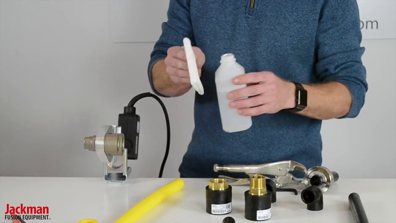Hdpe Socket Fusion Demonstration | Jackman Fusion Equipment