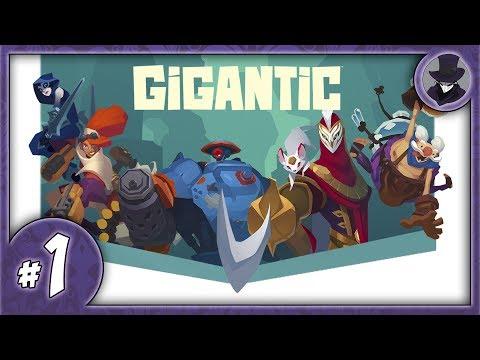 видео: gigantic #1 | ОБЗОР | ПЕРВЫЙ ВЗГЛЯД