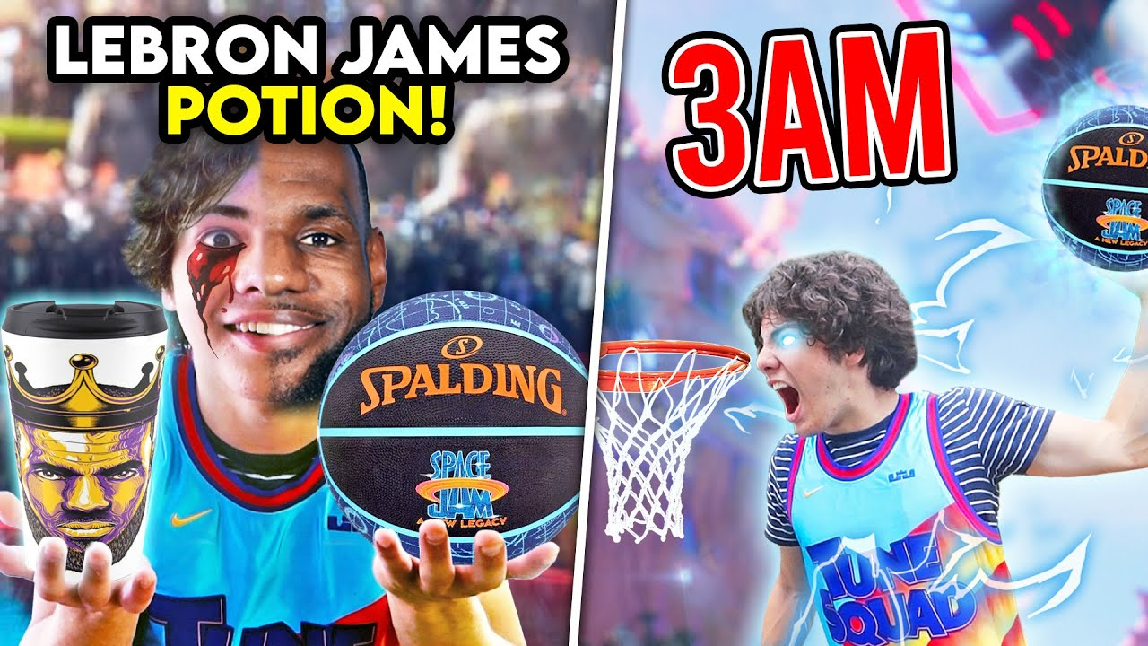 Download ORDERING THE LEBRON JAMES POTION FROM SPACE JAM 2 AT 3AM!! (I DUNKED IN REAL LIFE)