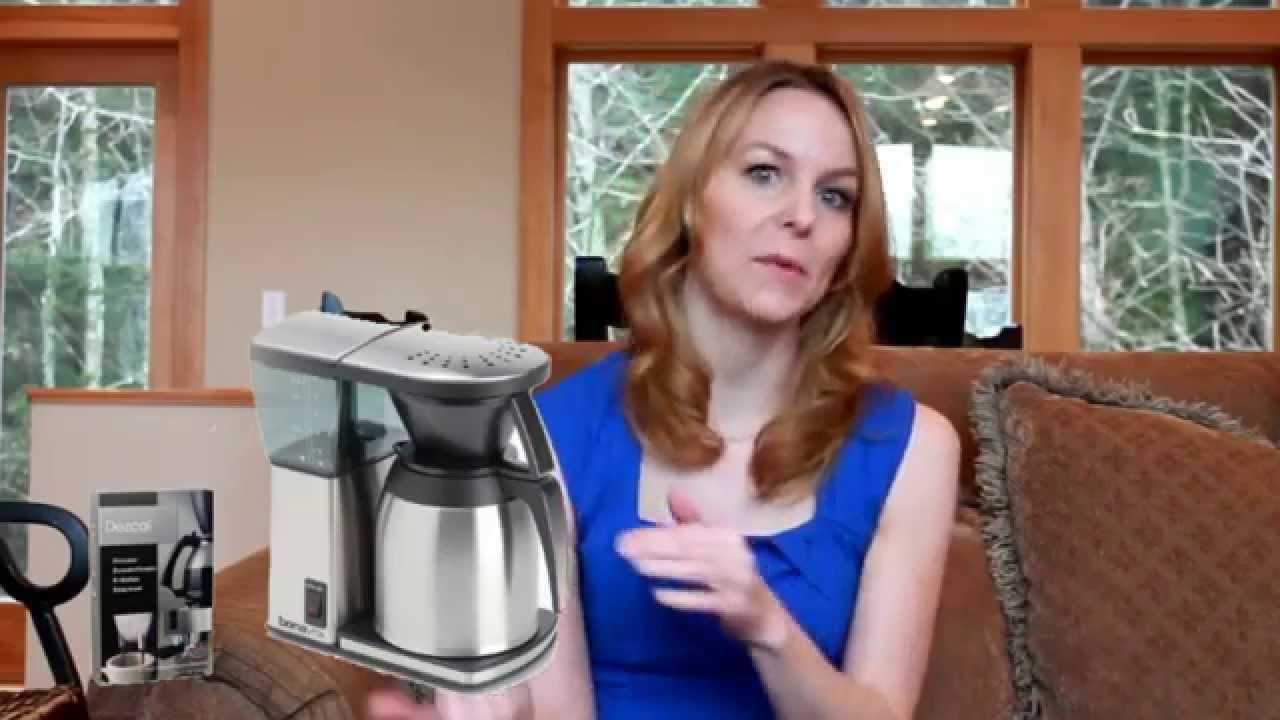 Bonavita Coffee Maker Stopped Working : Best Coffee Maker Bonavita BV1800TH 8 Cup Coffee Maker w Thermal Carafe - YouTube