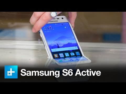 Samsung Galaxy S6 Active - Dunk Test and Review