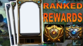 League of Legends: 2015 Ranked Rewards Borders and Icons mp3