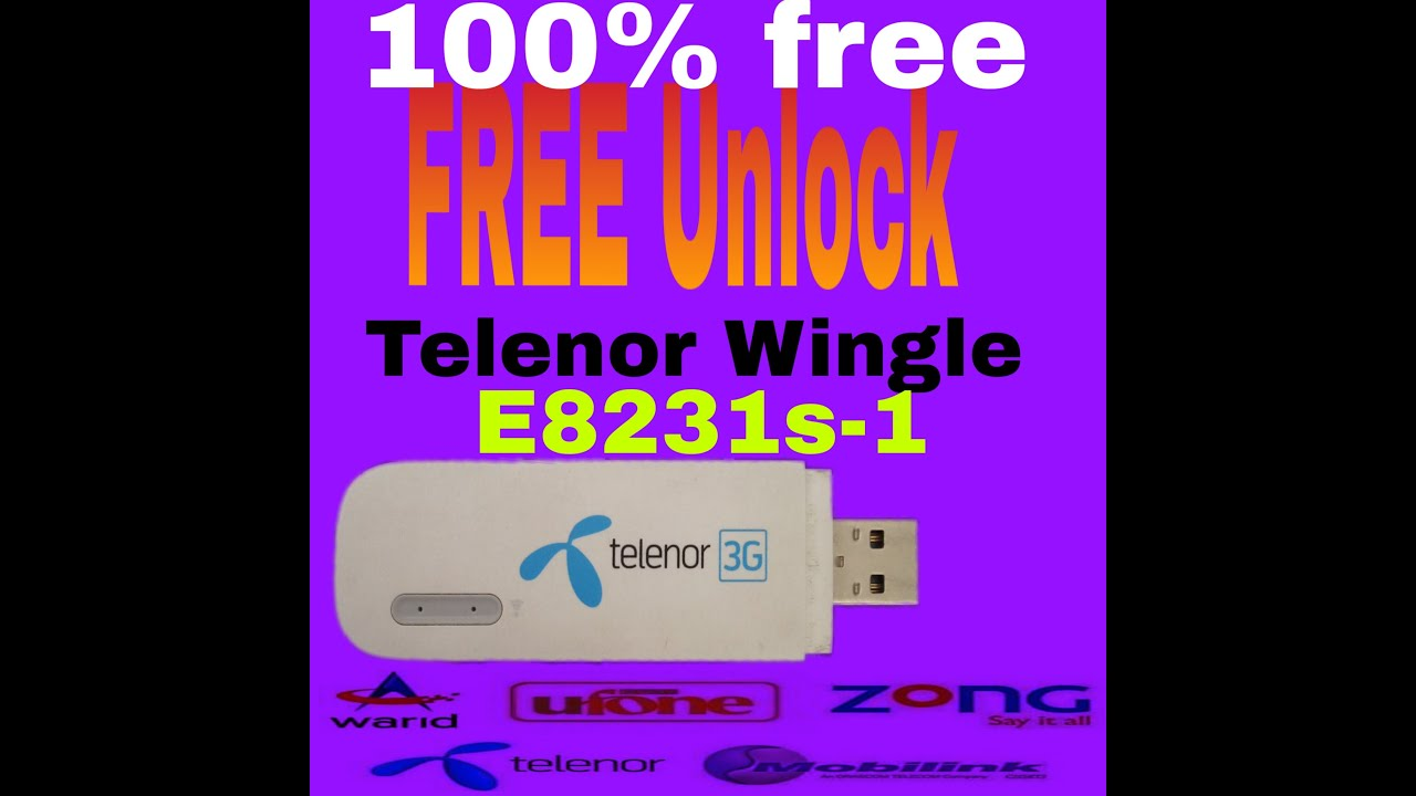TELENOR 4G E8372H 21 316 01 04 274 Unlock + RESET FIXED