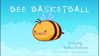 Bee Basketball: Animated Loop