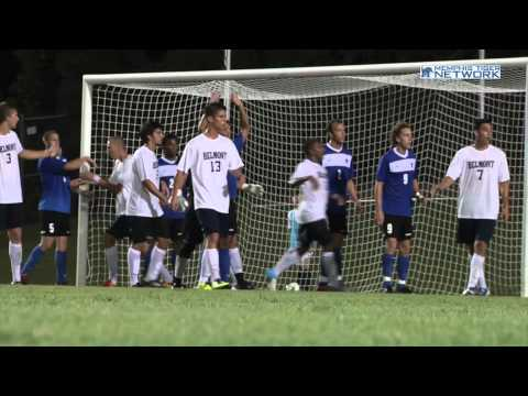 Memphis Men's Soccer: Gagnon Bicycle Kick Goal for Game-Winner Over Belmont
