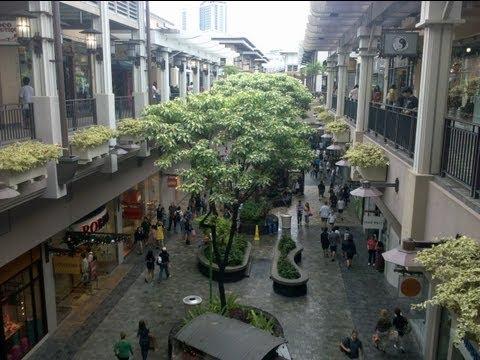 Ala Moana Mall Honolulu Hawaii, Time Lapse