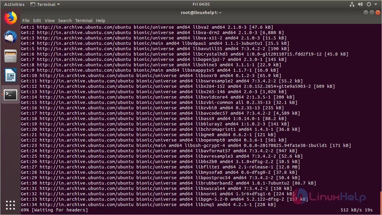 How to install WinFF 1 5 5 on Ubuntu 18 04 | LinuxHelp Tutorials