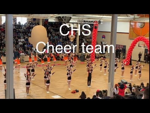 Chaffey High School's cheer team | Goodbye rally