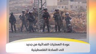 عودة العمليات الفدائية من جديد الى الساحة الفلسطينية