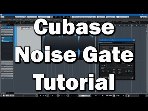 Cubase Tutorial: Noise Gates and Noise Reduction for Voice and Dialog