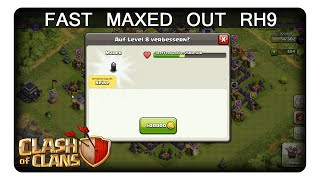 FAST MAXED OUT RH9 || CLASH OF CLANS | Let's Play CoC | Deutsch | German
