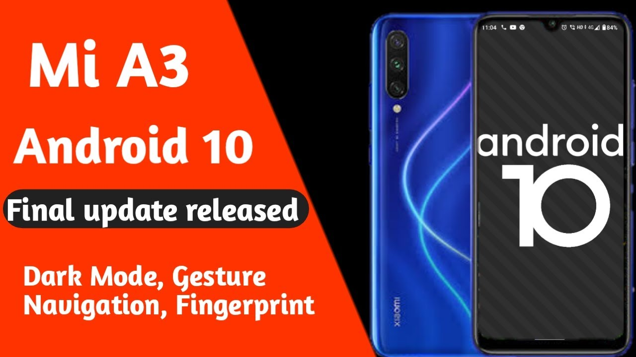 Mi A3 android 10 final update released, Dark theme, Gesture Navigation🔥 || Tech Flare