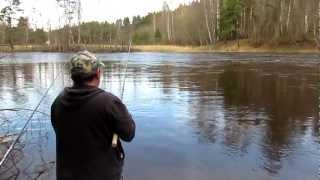 Весенняя ловля плотвы на поплавок. ч1