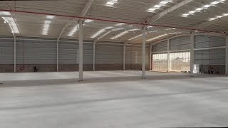 Interior of an Empty Warehouse | Videohive Project Templates