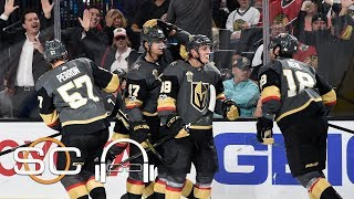 Golden Knights shocking NHL even with their mascot | SC with SVP | ESPN
