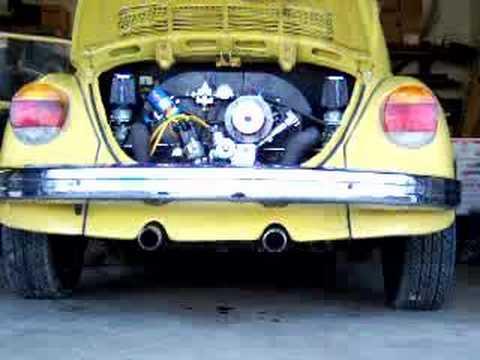 '73 Volkswagen Super Beetle Idle & Revs