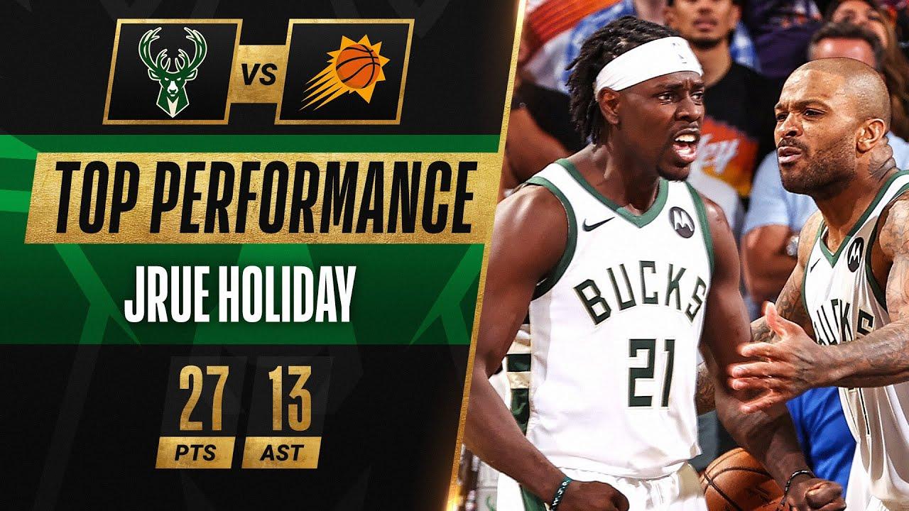 Jrue Holiday HUGE Performance LEADING Bucks in Game 5! 🔥