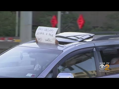 Uber, Lyft Drivers Stage Slow-Down Protest In NYC Over App Changes