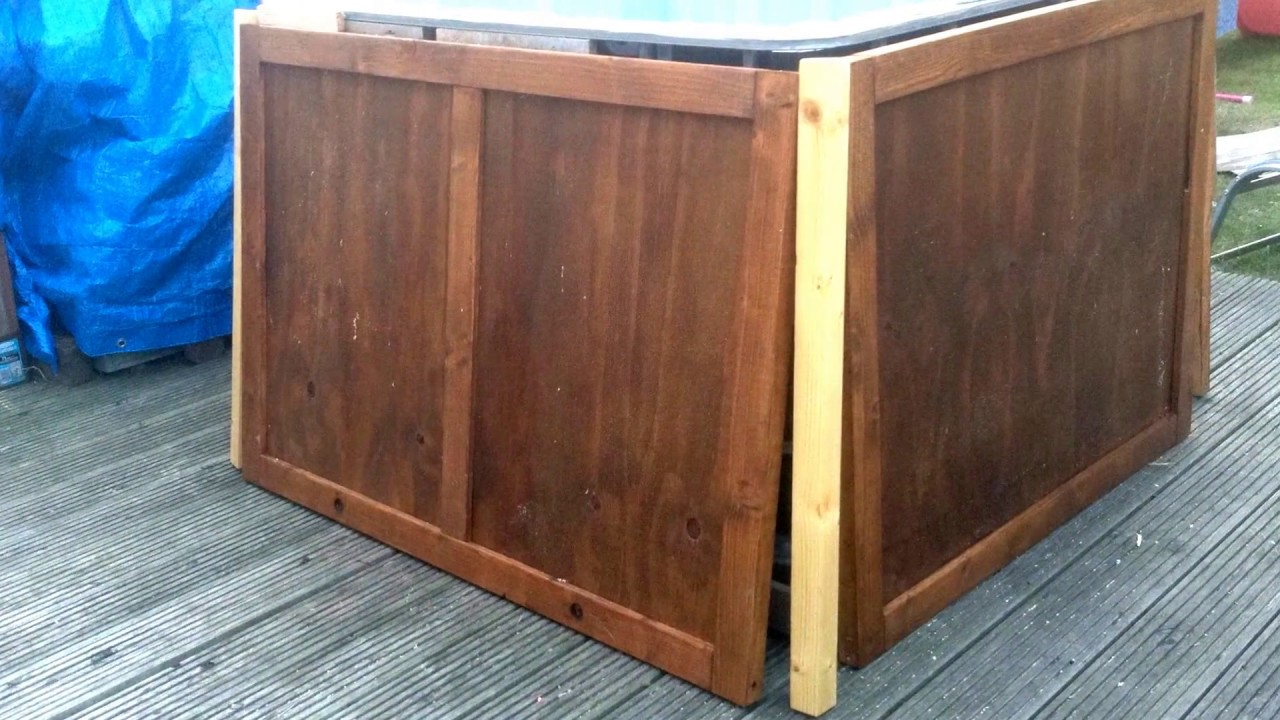 DIY Hot tub Jacuzzi Plunge Pool made from IBC Tank with Jets and ...