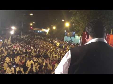 People's Republican party National Working President JAIDEEP KAWADE ADDRESSING A SABHA AT MUMBAI