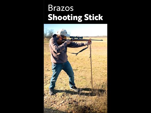 Brazos Shooting Stick  |  Steady Your Walk, Steady Your Shot.