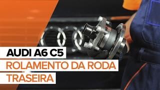 Como substituir a rolamento da roda traseira noAUDI A6 C5 TUTORIAL   AUTODOC