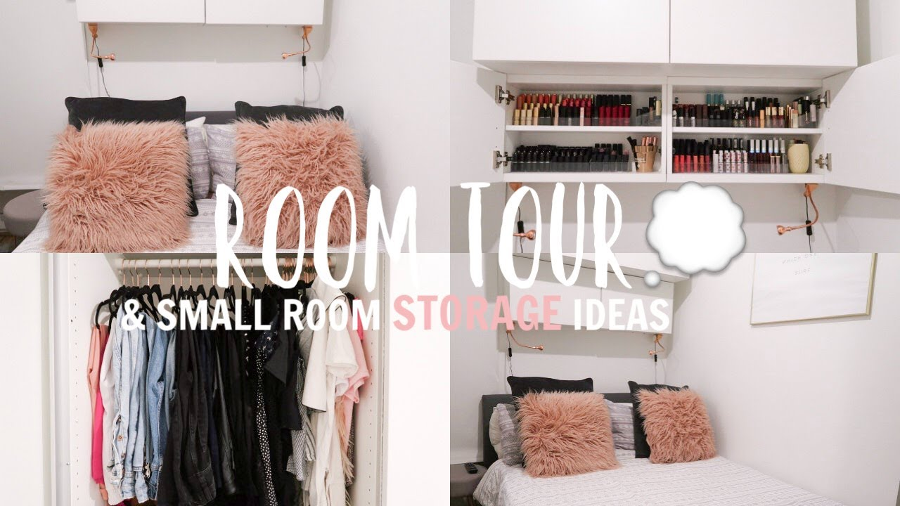Room Tour Storage Ideas For A Small Bedroom