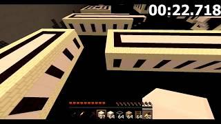 [ OCN ] Minecraft - Wit's End Map Speedrun in 1:28.959